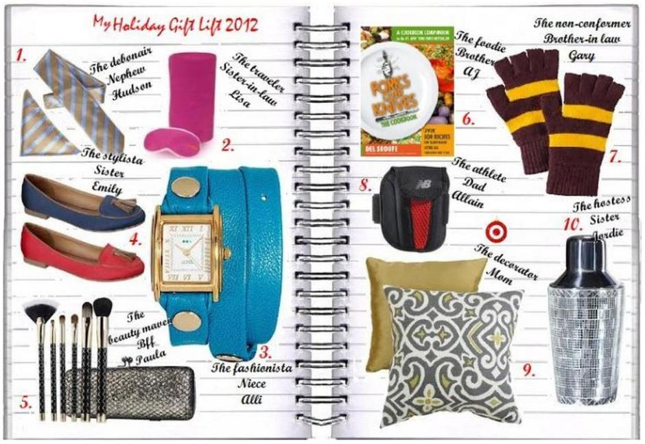 My Faves Journal My Holiday Target Gift List For Under $40
