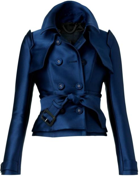 My Faves Journal Burberry Satin Corset Trench Coat