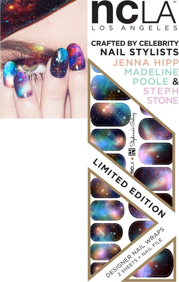 My Faves Journal NCLA Nails Galaxy