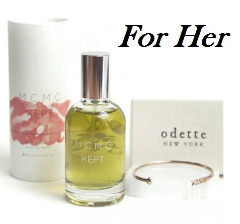 My Faves Journal ODETTE ARROW CUFF + MCMC KEPT GIFT SET For Her