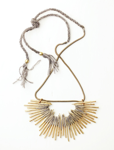 My Faves Journal Cisthene Burst Necklace