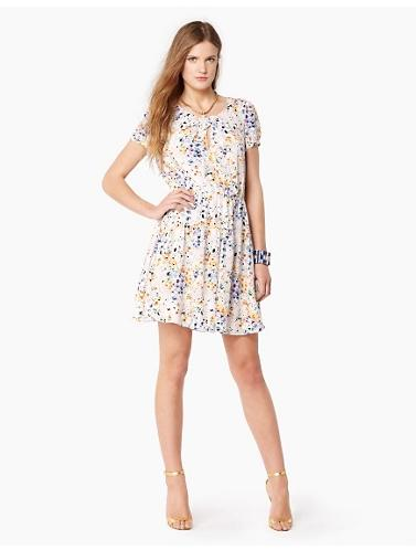 My Faves Journal Trifty Thursday -Silk Hothouse Floral Dress Juicy Couture