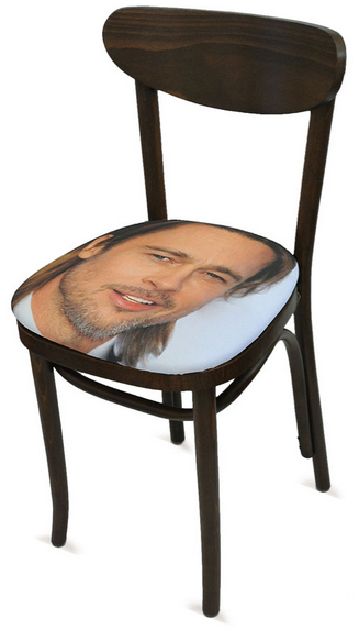 My Faves Journal Brad Pitt Chair