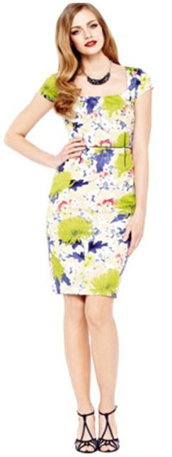 My Faves Journal - COAST Floret Shift Dress - isme