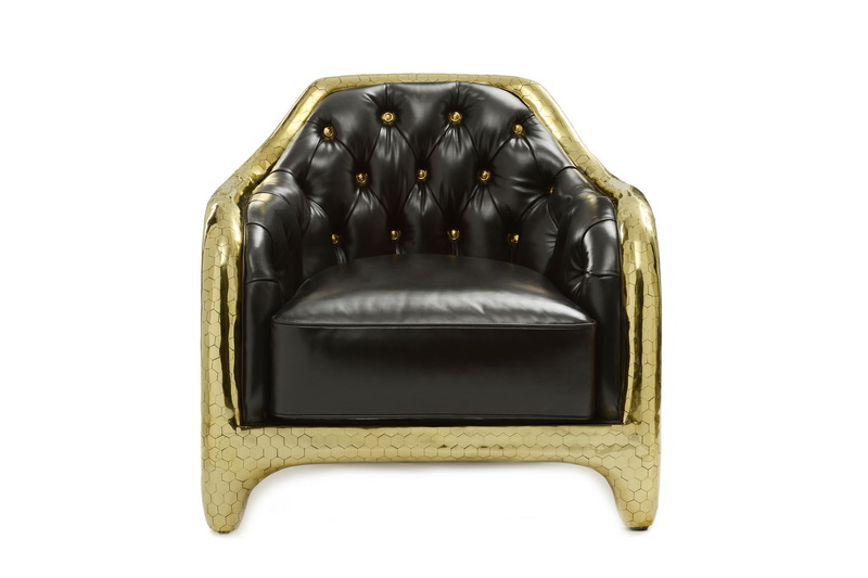 My Faves Journal The Haas Brothers For Versace Home Honeycomb Club Chair