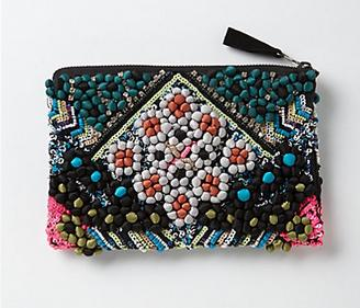 My Faves Journal Thrifty Thursday - Tacuba Pompom Pouch Anthropologie