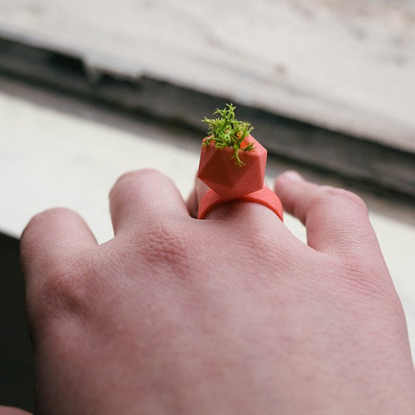 My Faves Journal-Wearable Plant Ring