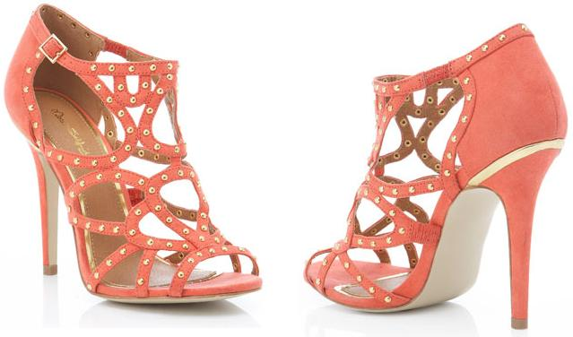 My Faves Journa_ hrifty Thursday_Miss Selfridge_CALYPSO CORAL PIN STUD SANDAL