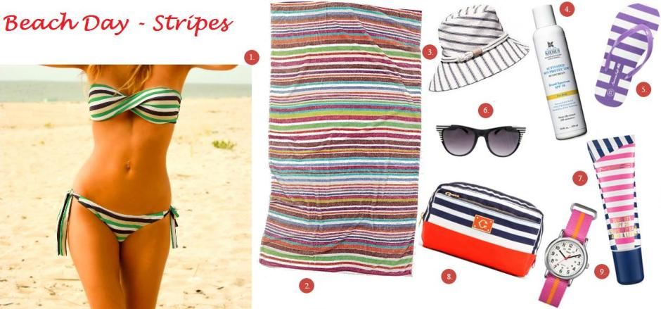 My Faves Journal_BeachDayStripes