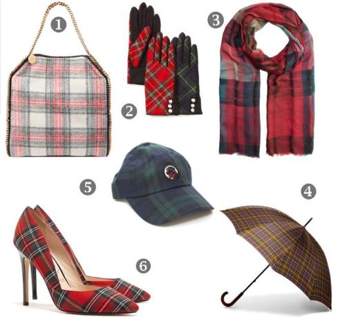 My Faves Journal_Fall 2013 Tartan Pattern Accessories