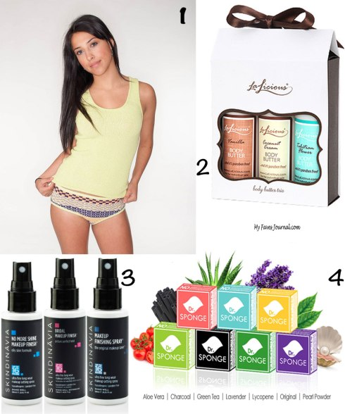 FavoriteFinds-KnittyKitty-Skindinavia-LaLicious-BodyButter-Trio-Dr.Sponge