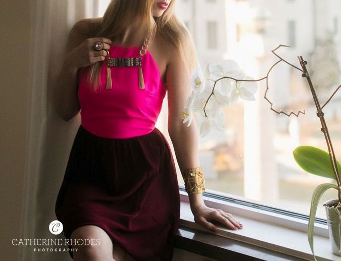 Magenta Dress1