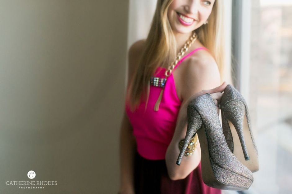 Magenta Dress2